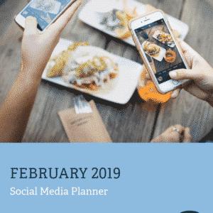 Media Mortar - Social Media Planner - February 2019