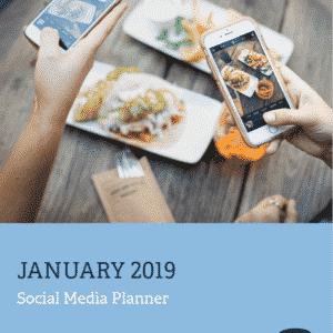 Media Mortar - Social Media Planner January 2019