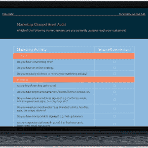 Marketing Channel Asset Audit Free Download