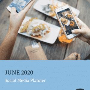 Social Media Calendar - June 2020