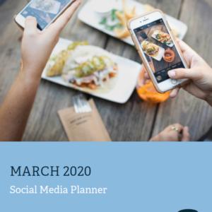 Social Media Calendar - March 2020