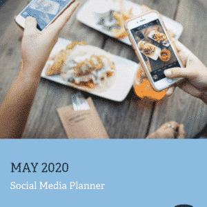 Social Media Calendar - May 2020