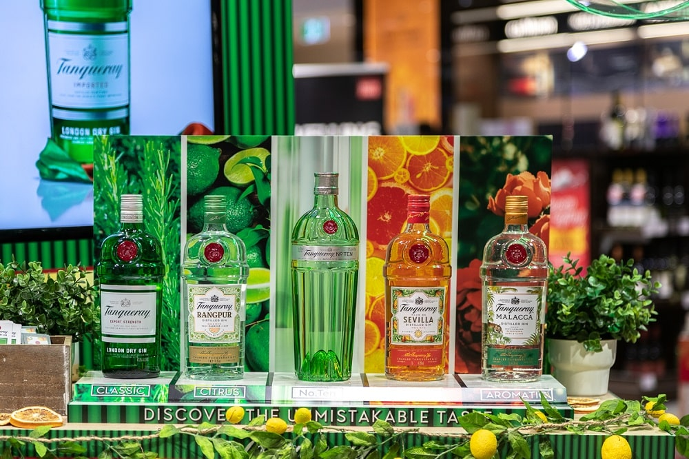 Media Mortar_Tanqueray Gin_Lotte Duty Free Brisbane Airport