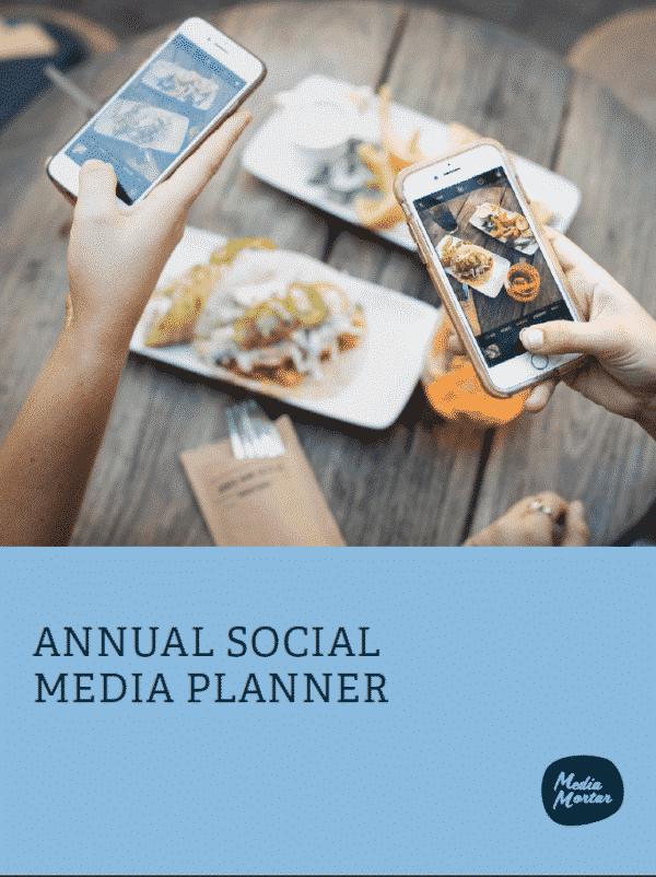 Annual Social Media Planner