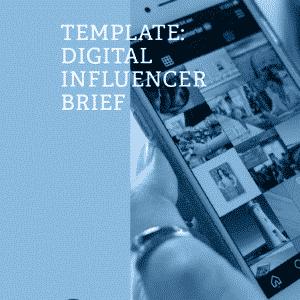 DIY Digital Influencer Brief Template