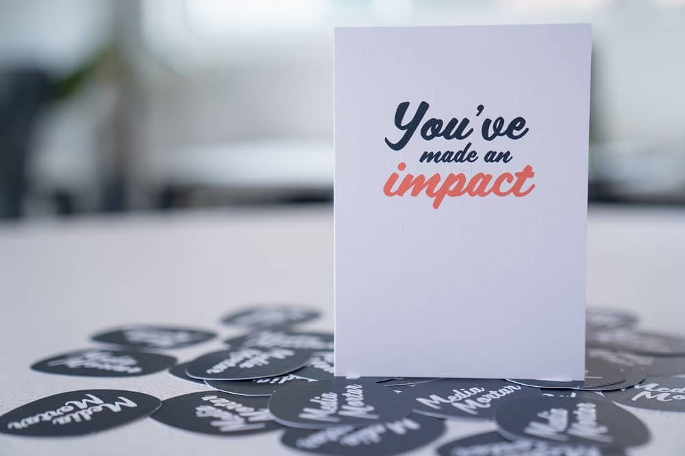 Media Mortar_Content marketing agency_You've made an impact