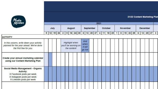 FY 21 -22 Marketing Plan